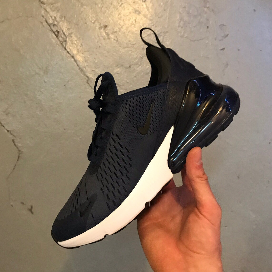 Nike Air Max 270 Navy Brand new with box One size Depop