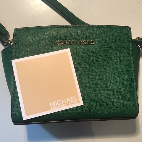 431f39c2b29cb5 Pics of MK Bag with leather care card for proof of - Depop