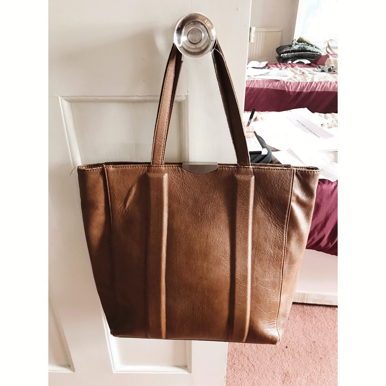 2247e49272b Zara womens bag one size Have a habit of buying items using - Depop