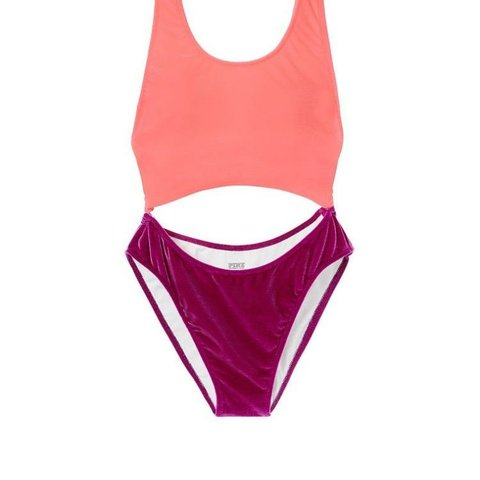 03f4a229075 @camillon04. last year. Lake Mary, Seminole County, United States. Victoria  secret pink one piece bathing suit.