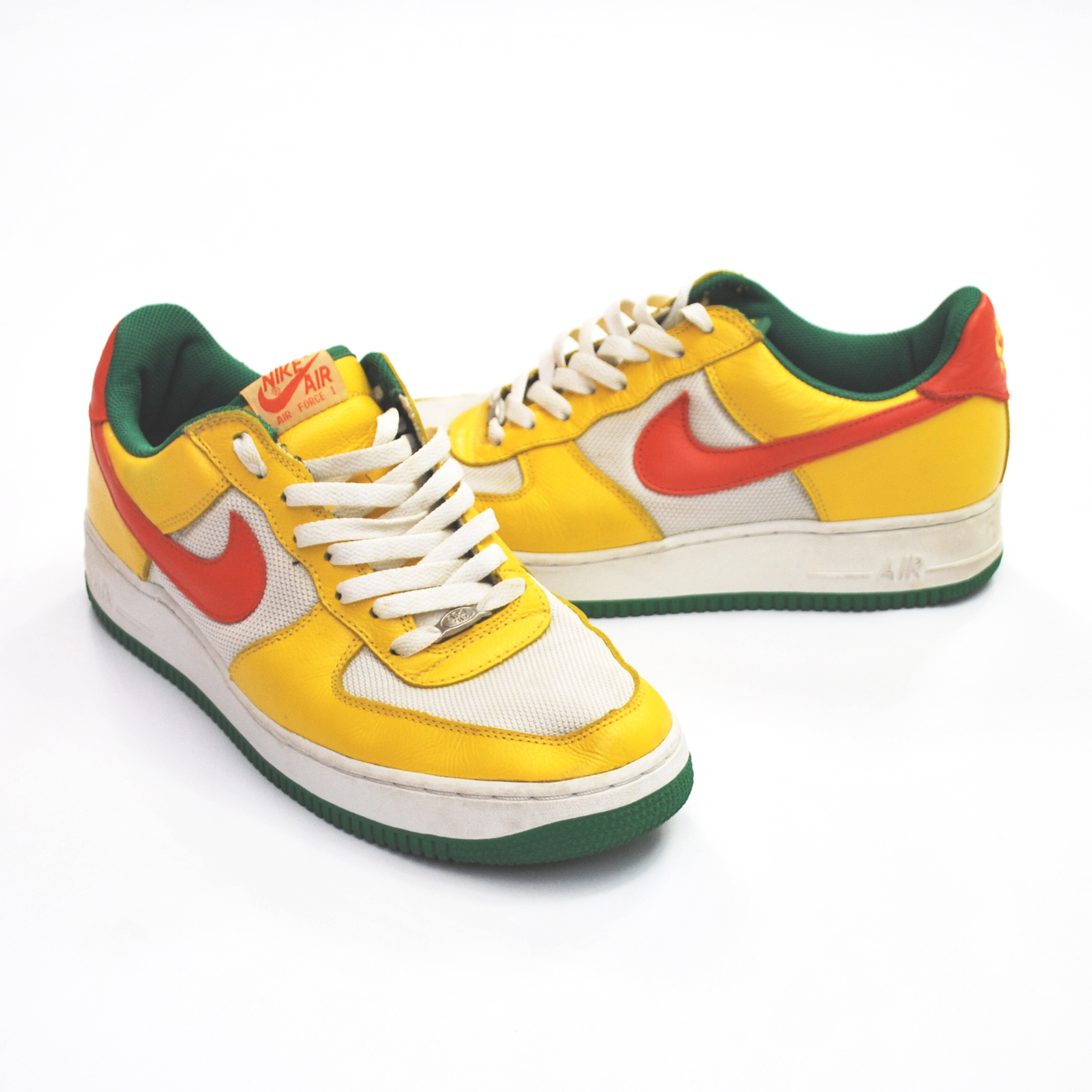 """Nike Air Force 1 (2003) """"Notting Hill Carnival"""" Depop"""