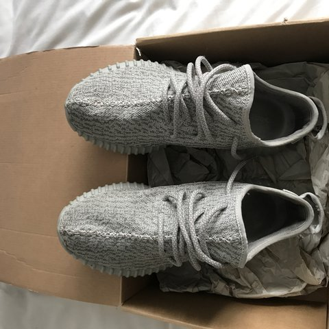 7cc16385df3ee Yeezy boost v1 Moonrock 7 10 condition Sole inside is slyly - Depop