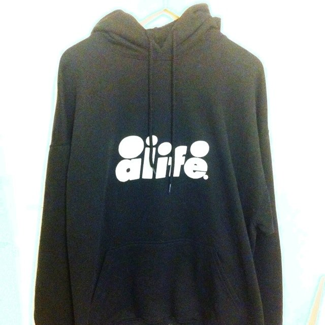 Alife black hoodie size XXL fits like an XL. Condition 8 10 - Depop 5100ee503413
