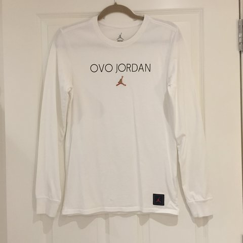 67fda24e5cc @poppyoflanagan. 2 months ago. London, United Kingdom. OVO x Jordan long  sleeve white ...