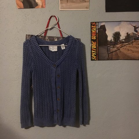 af5431db14a69e @ybsnadyllier. 11 months ago. Tampa, United States. LOGG by H&M loose knit  cardigan. Size small women's.
