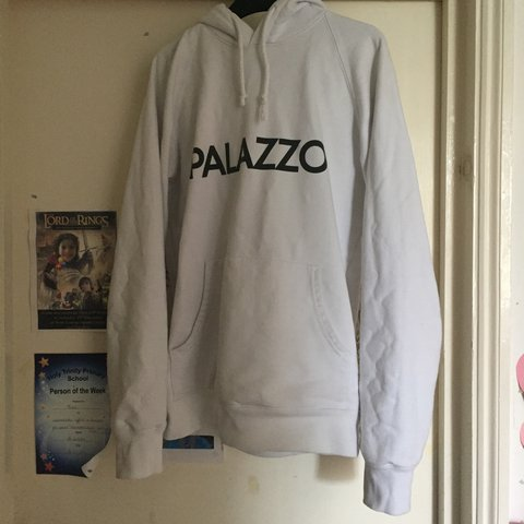 c68daab6e543 Palace  Palazzo  Hoodie! Size small! Rare! Good condition - Depop