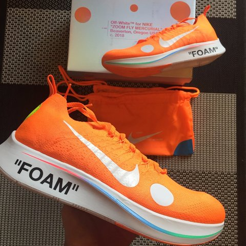 buy popular 96e75 098fb  mttdls. 11 months ago. Scandiano, Italia. Nike Zoom Fly Mercurial Flyknit  x OFF-WHITE Condition  DS