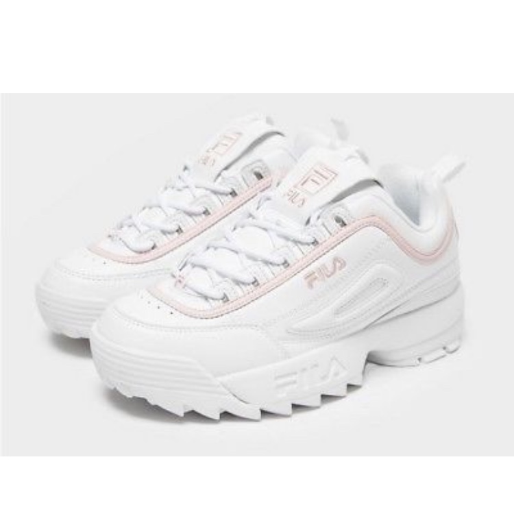 FILA white disrupters Trainers with