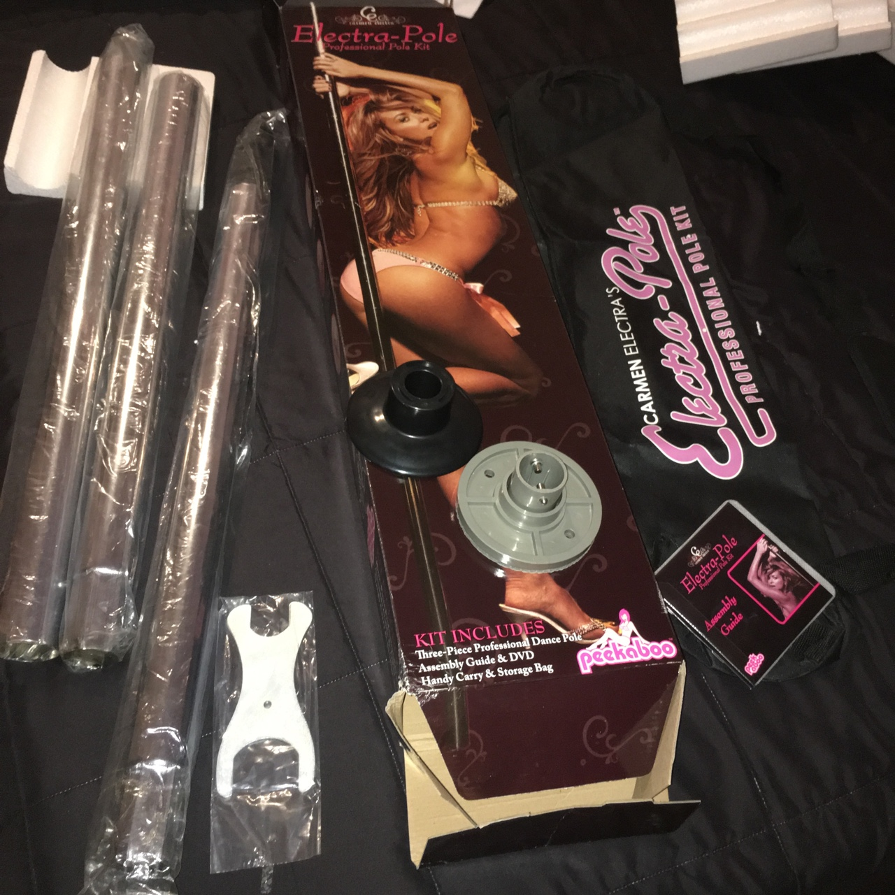 Carmen Electra Pole Stripper Chrome Professional Depop