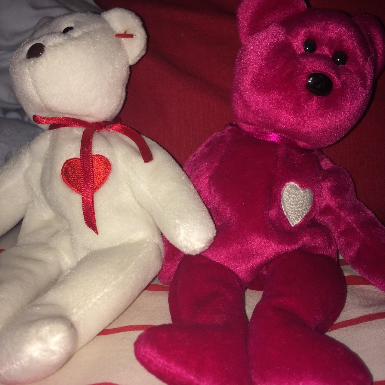 Valentina and Valentino beanie baby bears. NO tags. Retail - Depop d786afa0a1d