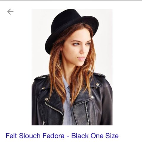 71c631cb5c102 Black  witch  like hat from Urban Outfitters! The brand is   - Depop