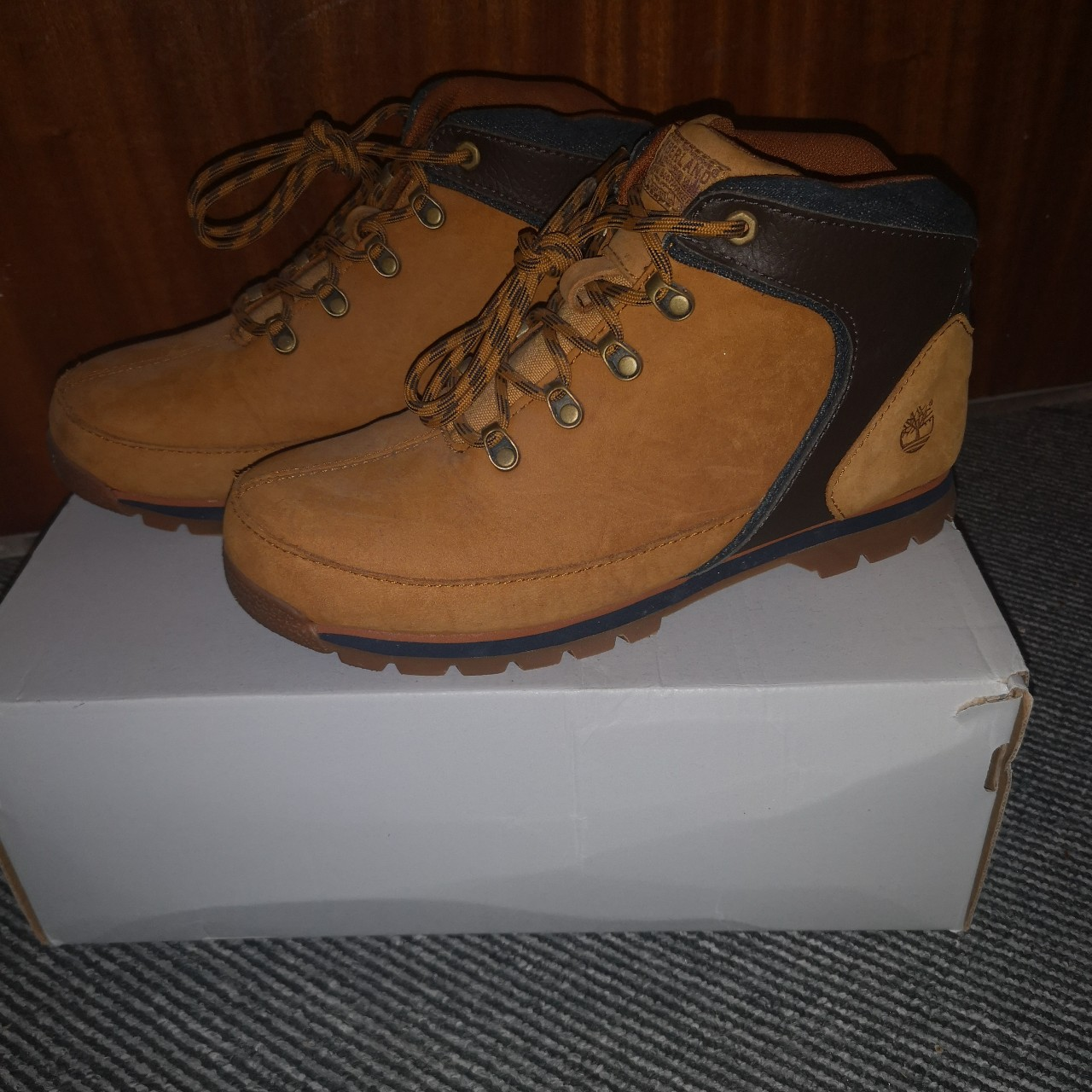 buying new 50% price unique design Selling these brown 'Timberland Calderbrook 3' boots... - Depop