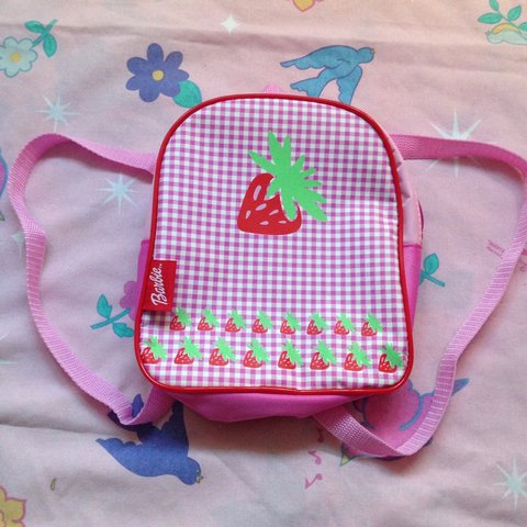 🎀REDUCED🎀 Super cute vintage barbie backpack! Perfect for - Depop d786ad8789a63