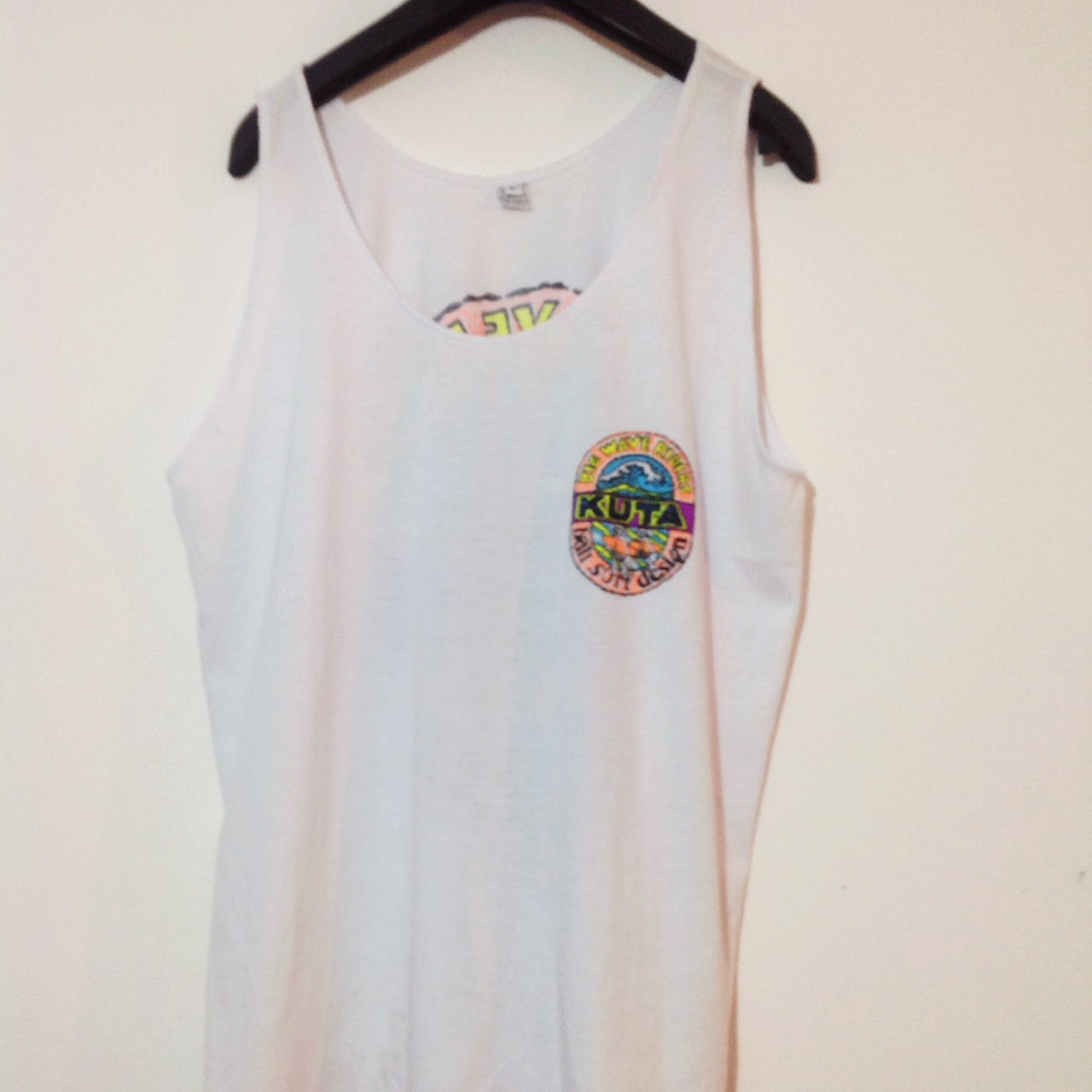 A #white BIG WAVE RIDERS #KUTA Skater #Vest With BIG
