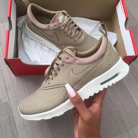 Women's Nike Air Max Thea Desert Camo Beige. UK size