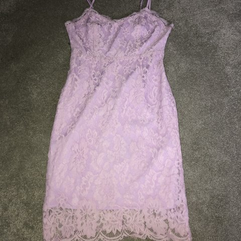 missguided lilac  lacedress SIZE 8 worn a few times but in - Depop 15c691a5c