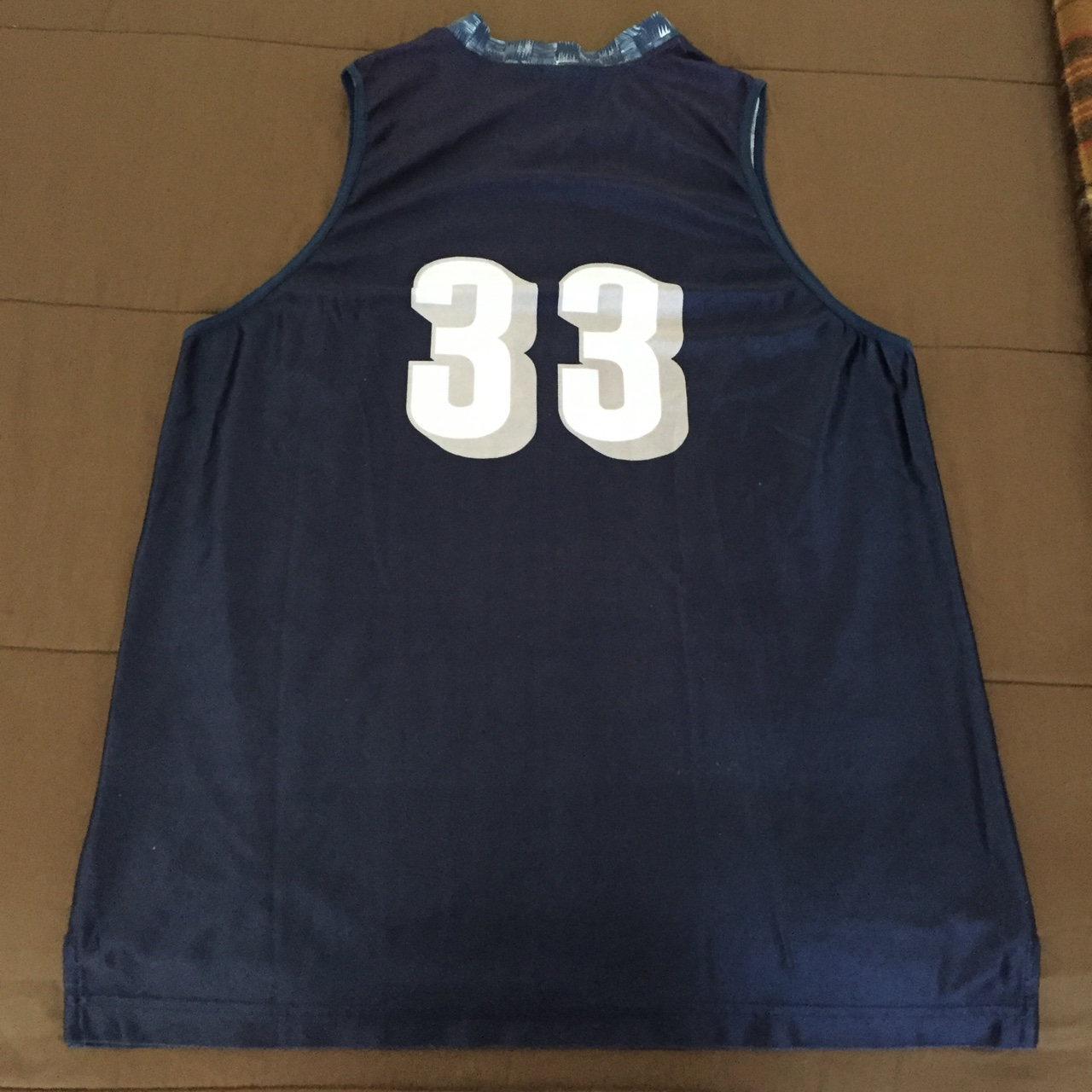 save off adc9d c83a5 Nike Georgetown #College Patrick Ewing Jersey #33... - Depop