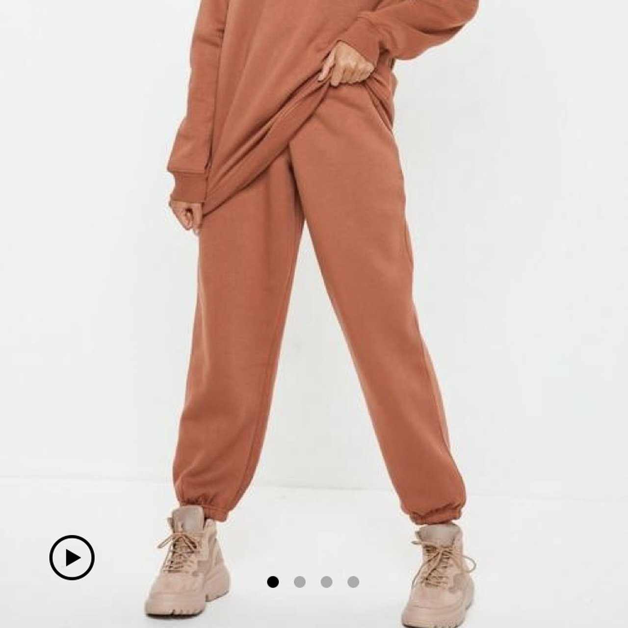4432251cd4f3 missguided rust joggers! size 4