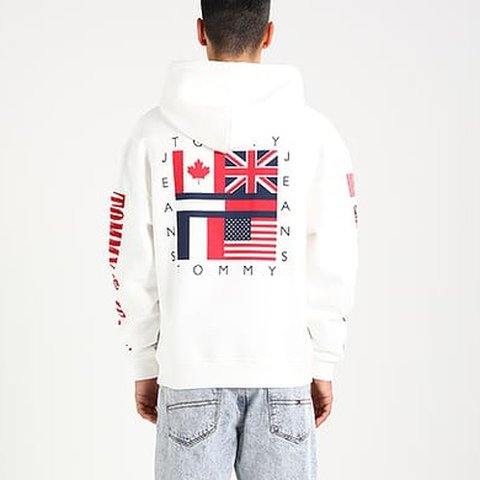 36334be52 @lu_sea. last year. Lancing, United Kingdom. SOLD OUT EVERYWHERE!! Tommy  Jeans 90s Capsule Flag Hoodie ...