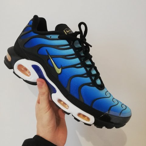 4cde4215e3 @mustbemad. 3 months ago. Lancashire, GB. Nike air Max TN hyper blue 2018 - brand  new with box ...