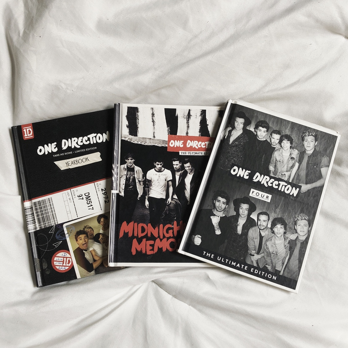 One Direction albums Take Me Home, Four, Midnight    - Depop