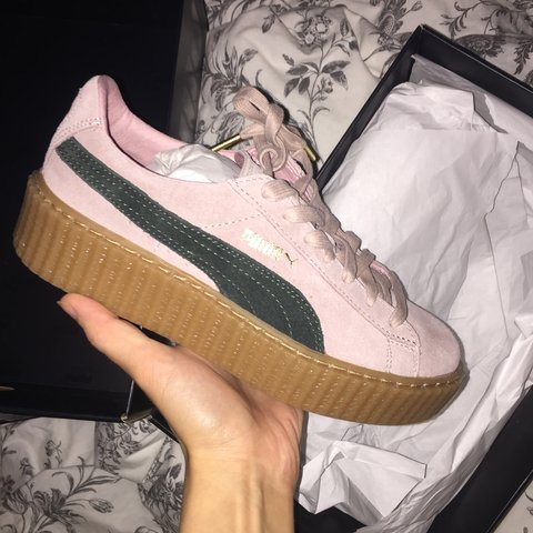 ad7fc3d7a @salomesylvana. 4 years ago. Cologne, Germany. Puma Creeper Fenty Collab Rihanna  EU ...
