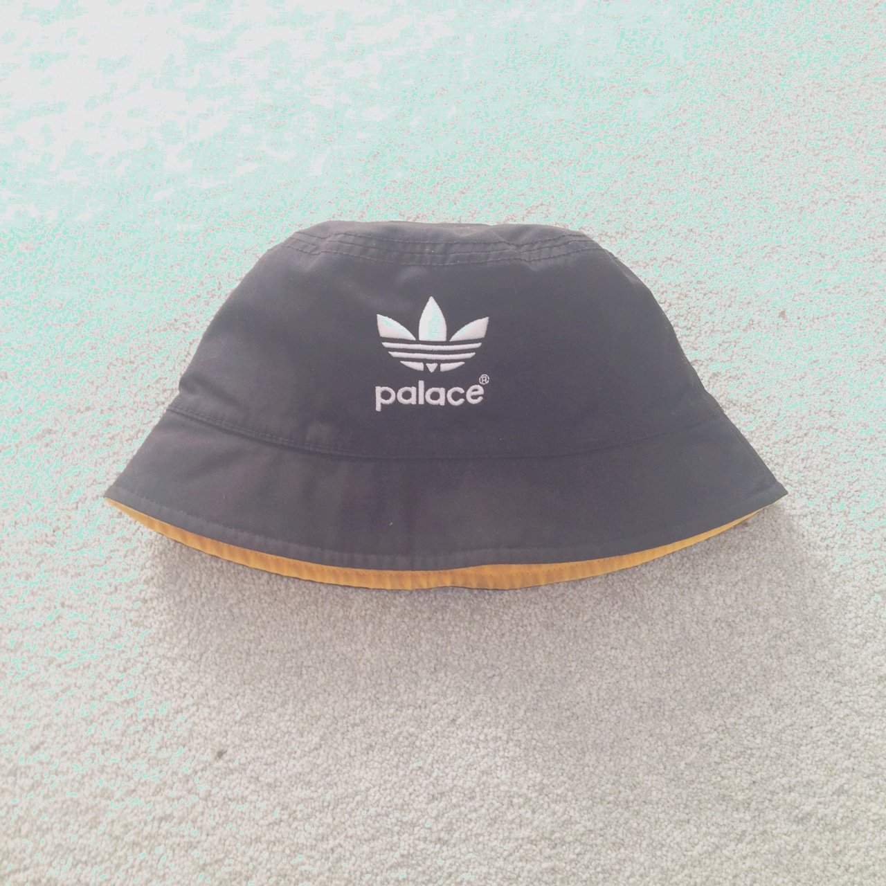 Palace x Adidas Bucket Hat. One Size. 8 10 condition. Hmu or - Depop 8a9d422a76d4