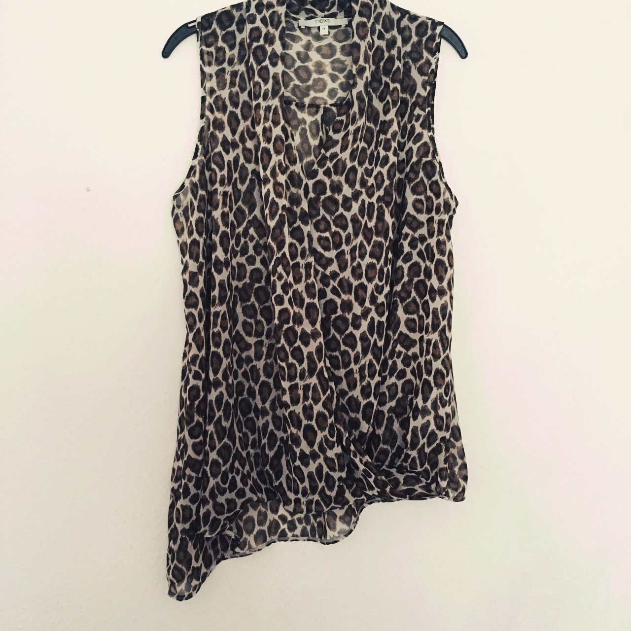 442813f90b61 Gorgeous cheetah/leopard print top from Next! Only worn a - Depop