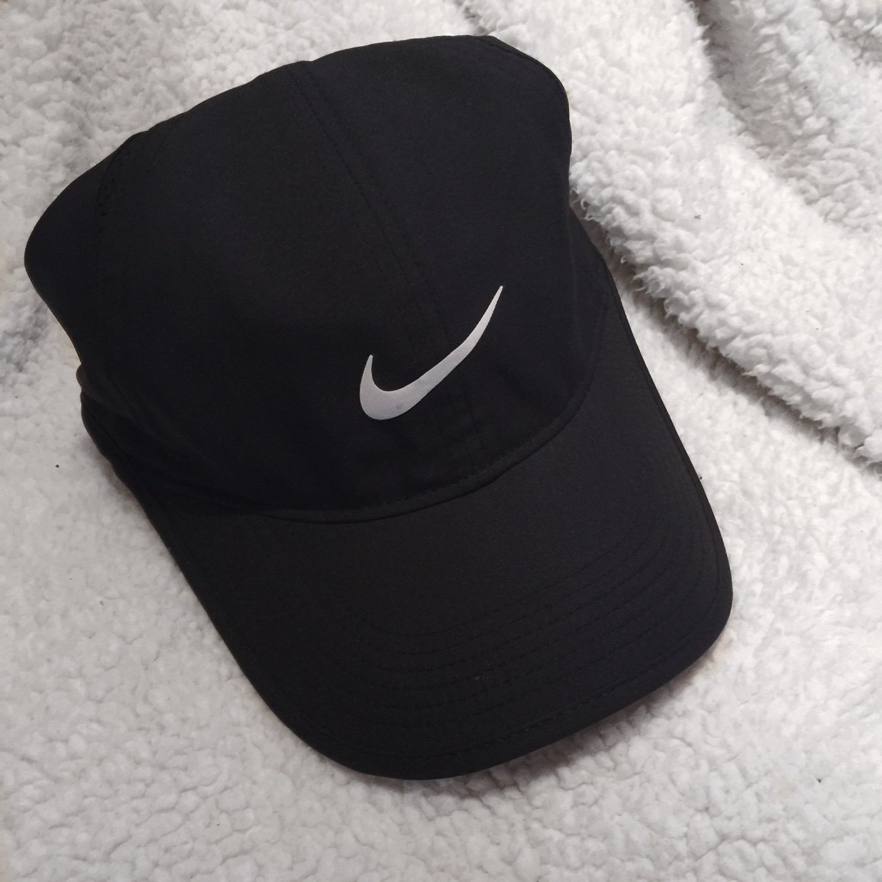 528c0aa2d5b97 Nike feather light Dri-Fit hat. In excellent condition with - Depop