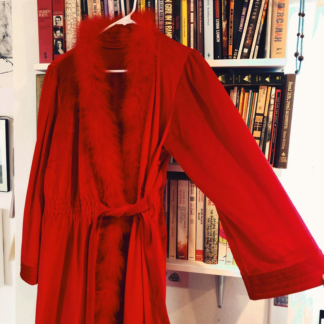 Most Amazing Vintage Red Robe Wow Wow Red Hot Velvet With Depop