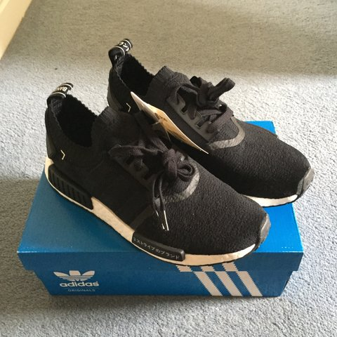 e174a1ce7 Adidas NMD R1 Japan Boost Black. Ordered from adidas Brand + - Depop