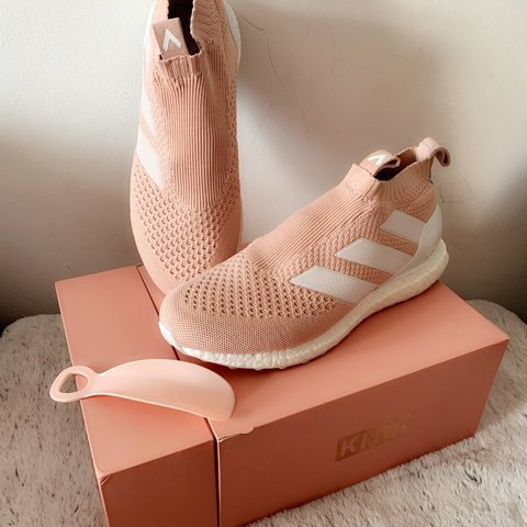 sports shoes 77c9d d95a8  peterhawthorne. 5 months ago. Broadstairs, United Kingdom. KITH X ADIDAS  ACE 16 purecontrol Ultra Boost Kith Flamingos.