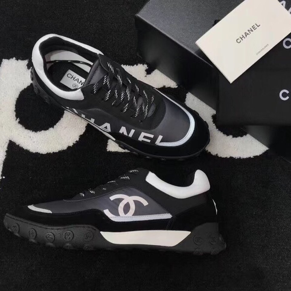 chanel sneakers size 9