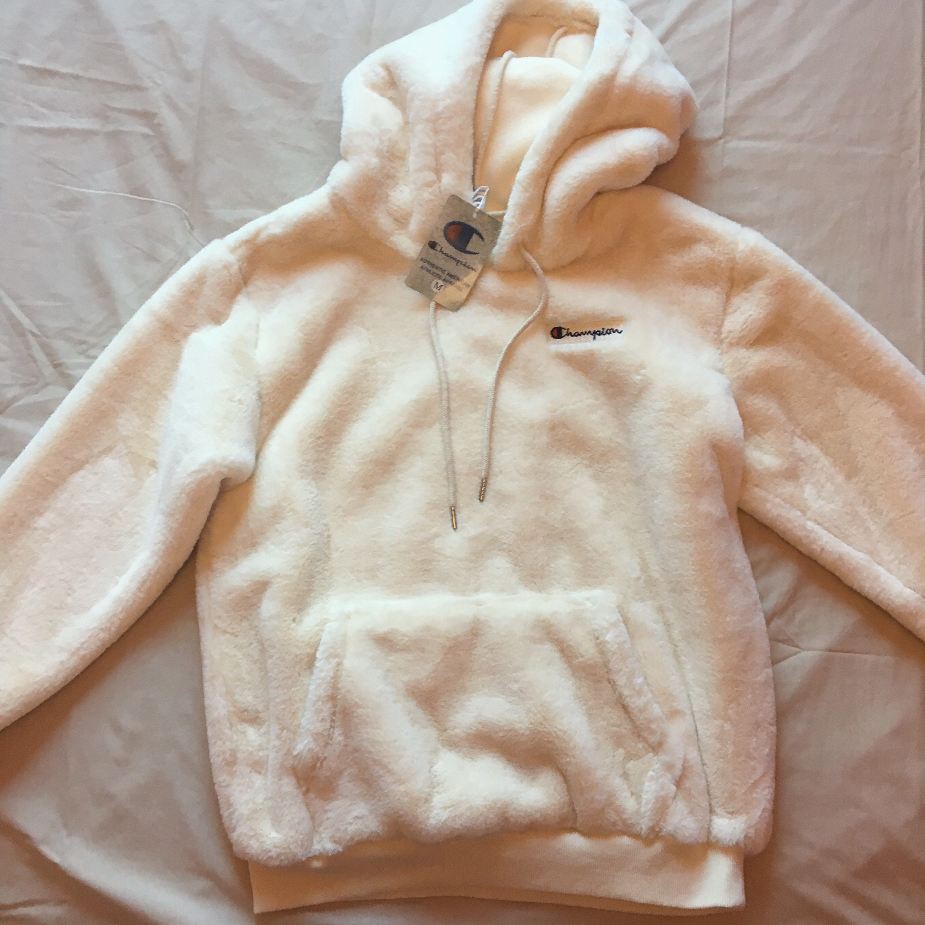 Beauty Champion Brand Youth With Hoodie Depop Sherpa New X mwP0OnyN8v