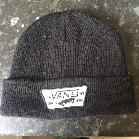 62f53589b052e Vans beanie. Worn but in great condition. RRP £25