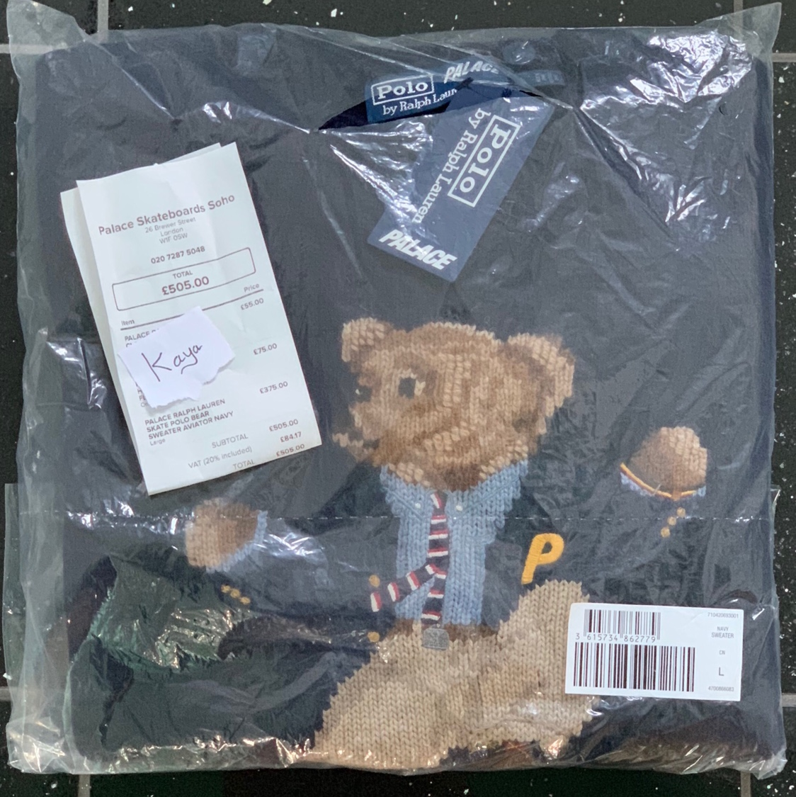 Ralph Aviator Bear Sweater Palace Lauren Depop Skate Polo zSpqUMV