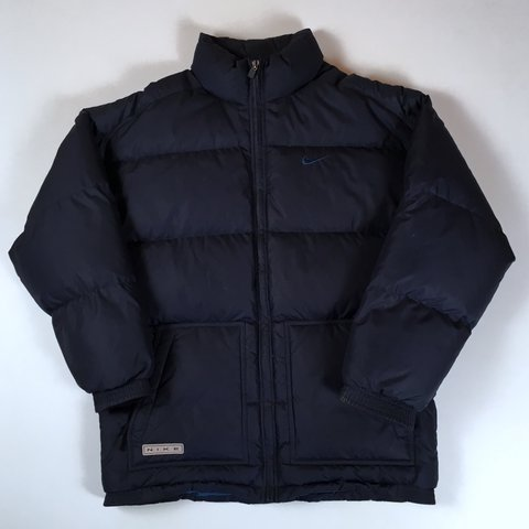 fa7dd2bb1 @grassroutes. 2 years ago. Hornchurch, United Kingdom. Vintage Nike down-filled  puffa jacket. Men's large ...