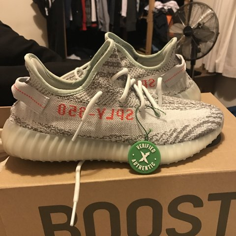79081e1f @harrylang. 8 months ago. United Kingdom. Yeezy 350 V2 Blue tints, StockX  verified ...