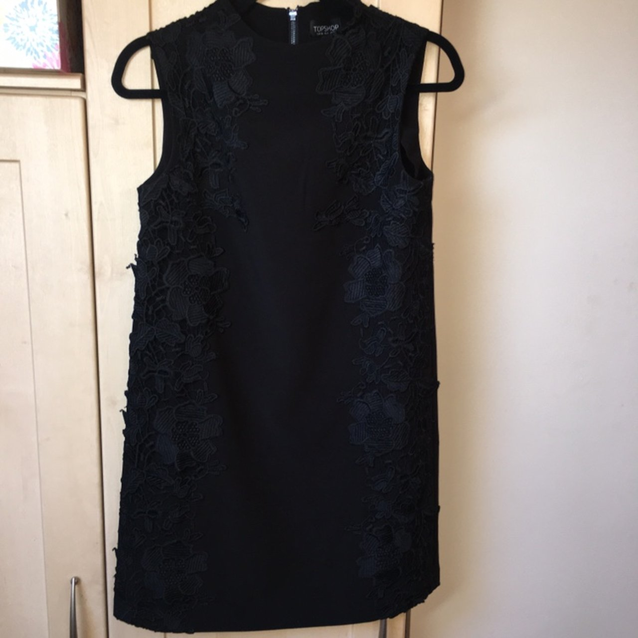 8cd974922a Topshop Black Lace Floral Dress - Data Dynamic AG