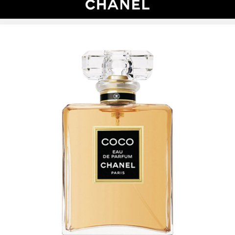 c18e51fe1d28 @florencerussell. last year. Ashford, United Kingdom. Coco chanel eau de  parfum 100 ml brand new not ...