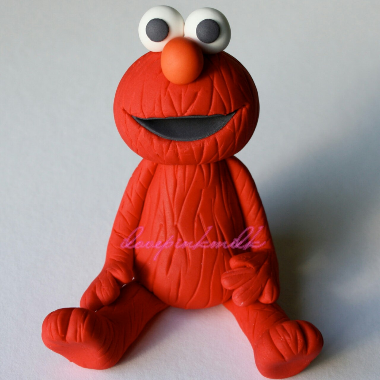 Elmo Fondant Cake Topper Elmo Is Approx 3 Tall He Depop