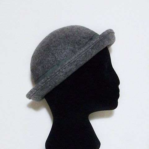 e17bb6e289533  SpringSale  NothingNew ❤ 100% wool grey bowler hat by ASOS - Depop