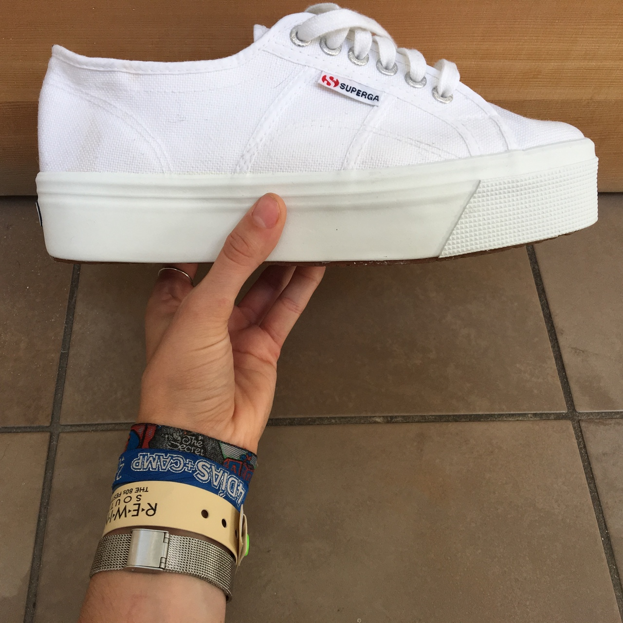 Size 7 Superga 2790 Acotw Linea Up and