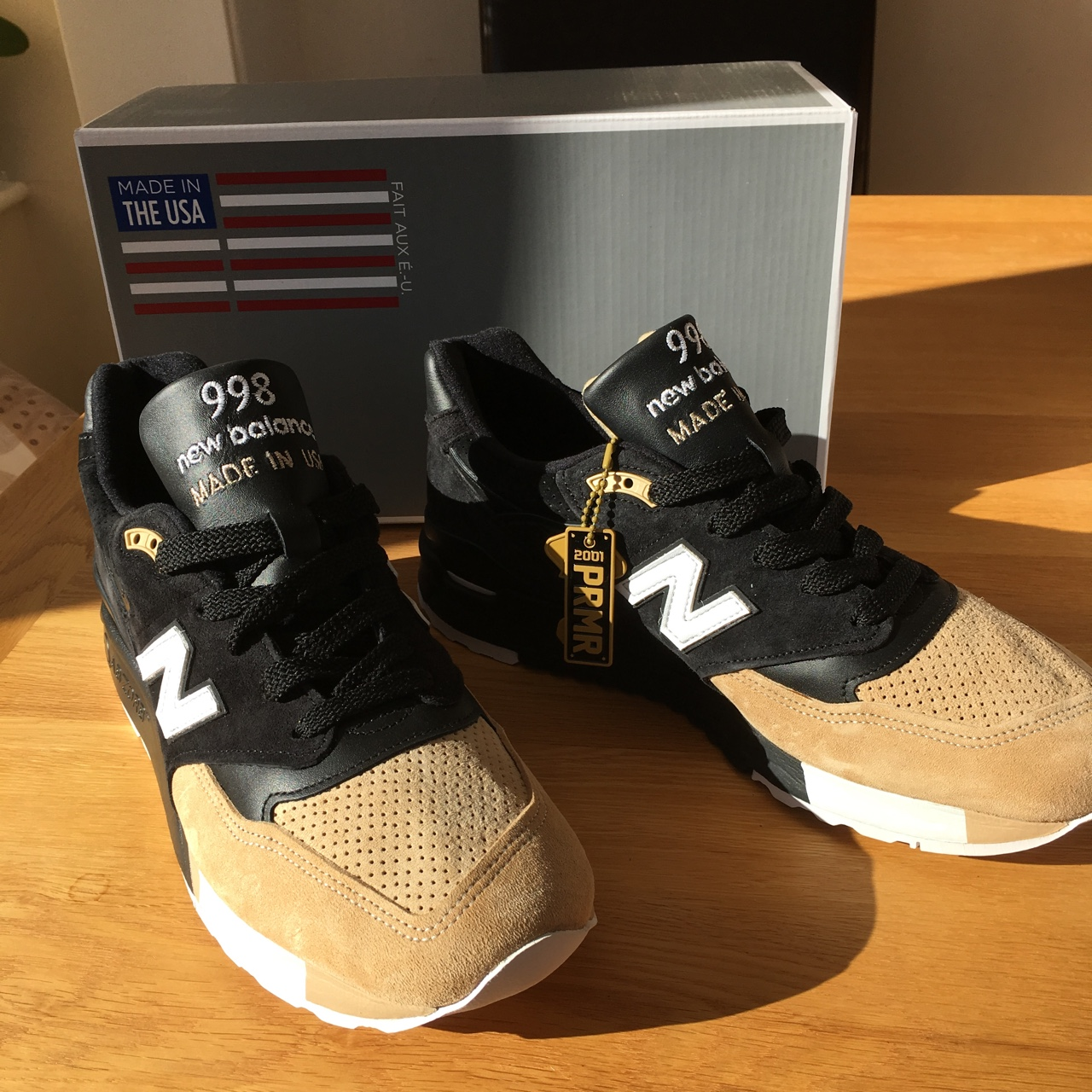 timeless design 9c92b dee85 New Balance x Premier 998 DS UK9 Open to offers.... - Depop