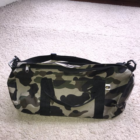 29c278798ffc Bape a bathing ape shoulder bag. Strap broke off but been so - Depop
