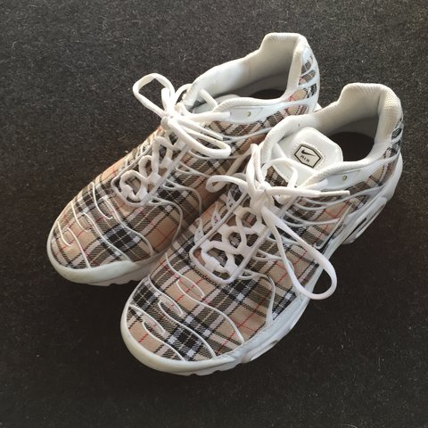 fe3c5c7d011435 ... bootleg burberry print tns with 3m worn occasionally uk depop . price  reduced 57feb 08116  pink tns size 6 message if intrested ...
