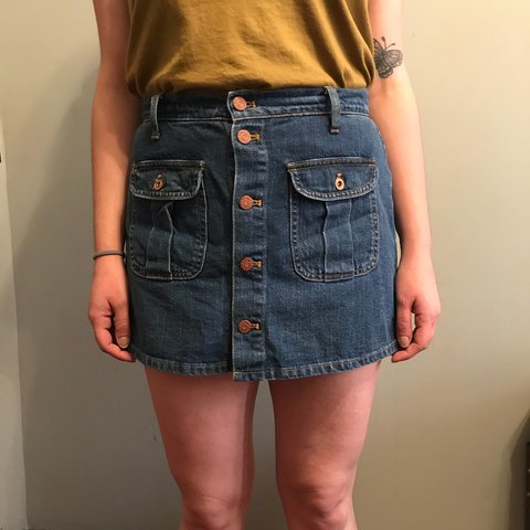 2644b9792a Madewell skirt/shorts. Pretty good condition. Best fits size - Depop