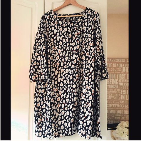 Gorgeous Simply Be Capsule Range dress tunic with animal in - Depop 815c5927e