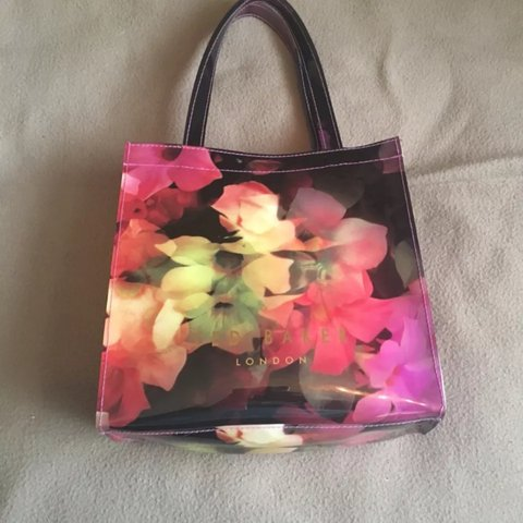 c891018b77 Ted baker floral small tote. Been used only a handful of so - Depop