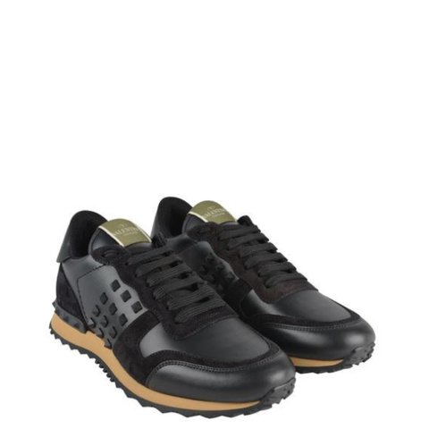 Black  RockRunner  Valentino trainers. Size 5. In good comes - Depop 62c173a8dfef